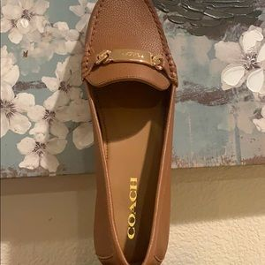 Coach women's shoes size 9.5 leather new